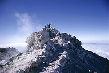 Summit of Mount Teide, Tenerife, Canary Islands, Spain, Europe