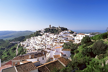 Village of Casares, Malaga area, Andalucia, Spain, Europe