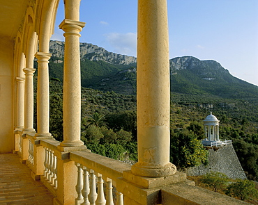 Son Marroig, former home of Archduke Salvador, near Deya, Mallorca (Majorca), Balearic Islands, Spain, Mediterranean, Europe