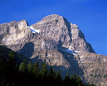 Mount Stephen, Yoho National Park, UNESCO World Heritage Site, British Columbia (B.C.), Canada, North America