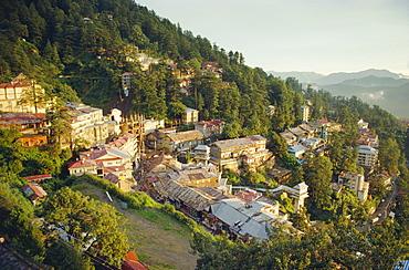 India, Himachal Pradesh, Simla, Hill resort favoured by the British Raj