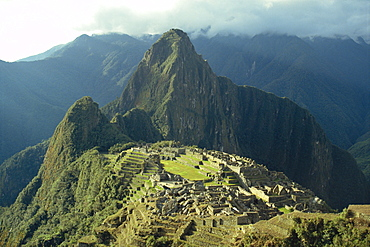 Machu Picchu, the lost city of the Incas, rediscovered in 1911, Peru, South America