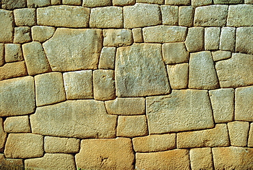 Typical Inca wall, Machu Picchu, Peru, South AmericaThe lost city of the Inca was rediscovered by Hiram Bingham in 1911
