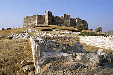 Byzantine castle, Selcuk Castle, Anatolia, Turkey, Eurasia