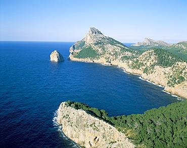 Cabo Formentor, Mallorca (Majorca), Balearic Islands, Spain, Mediterranean, Europe