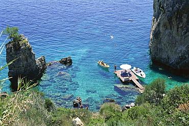 Paleokastritsa, Corfu, Ionian Islands, Greece, Europe