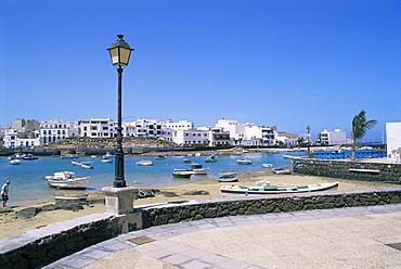 Charco de San Gines, Arrecife, Lanzarote, Canary Islands, Spain, Atlantic, Europe
