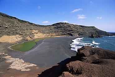 El Golfo, Lanzarote, Canary Islands, Spain, Atlantic, Europe