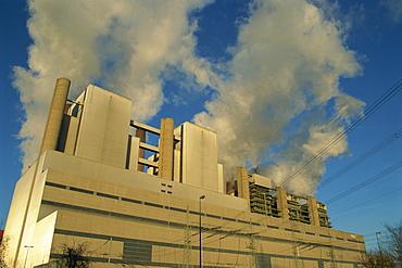 Coal power plant near Bergheim, North Rhine Westphalia, Germany, Europe