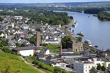 Rudesheim, Rhine Valley, Hesse, Germany, Europe