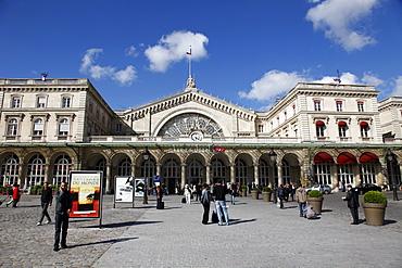 Gare de l'Est railway station, Paris, France, Europe