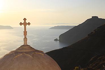 Fira, Santorini, Cyclades Islands, Greek Islands, Greece, Europe - 396-4125
