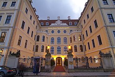Kempinski Taschenbergpalais, Dresden, Saxony, Germany, Europe
