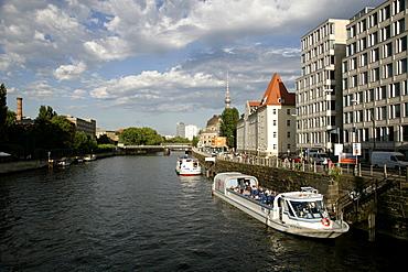 River Spree near Museumsinsel, Berlin, Germany, Europe