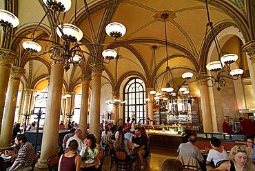 Cafe Central, Herrengasse, Vienna, Austria, Europe