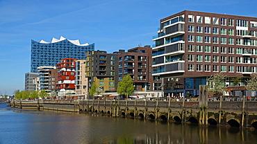 Elbe Philharmonic Hall, Hafen City, Hamburg, Germany, Europe