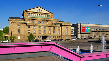 Opera House, Stuttgart, Baden-Wurttemberg, Germany, Europe