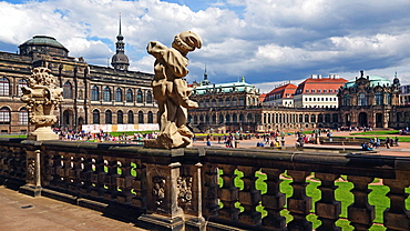 Zwinger Palace, Dresden, Saxony, Germany, Europe
