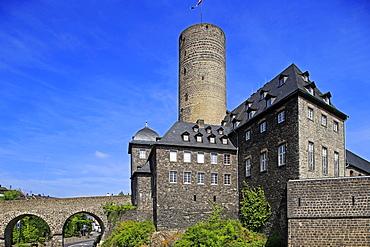 Genoveva Castle, Mayen, Eifel, Rhineland-Palatinate, Germany, Europe
