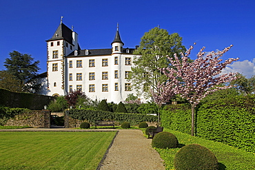 Victor's Residenz Hotel Schloss Berg, Nennig on Upper Moselle River, Saarland, Germany, Europe