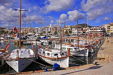 Puerto Pollenca, Majorca, Balearic Islands, Spain, Mediterranean, Europe