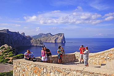 Cap de Formentor, Majorca, Balearic Islands, Spain, Europe