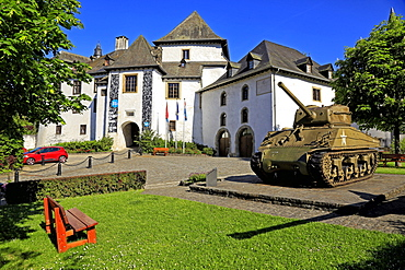 Clervaux Castle, Canton of Clervaux, Grand Duchy of Luxembourg, Europe