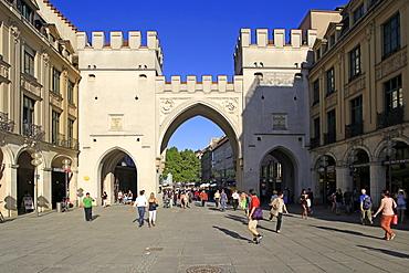 Karlstor City Gate, Munich, Upper Bavaria, Bavaria, Germany, Europe