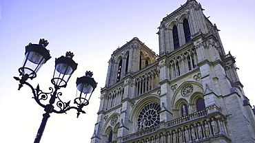 Notre Dame Cathedral, UNESCO World Heritage Site, Paris, France, Europe
