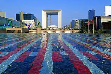 Grande Arche de la Defense, La Defense, Paris, France, Europe
