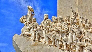 Padrao dos Descobrimentos (Monument of the Discoveries), Belem, Lisbon, Portugal, Europe