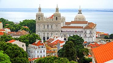 Church of Sao Vicente of Fora, Alfama, Lisbon, Portugal, Europe