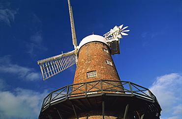 Green's Mill, built in 1807, Green's Park, Nottingham, Nottinghamshire, England, United Kingdom, Europe
