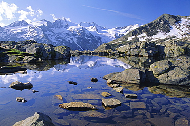 Gran Paradiso National Park, near Valnontey Valley, Valle d'Aosta, Italy