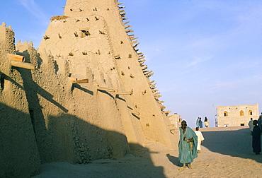 Mosque, Timbuktu (Tombouctou), UNESCO World Heritage Site, Mali, Africa