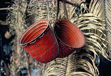 Baskets, Yanomami Indians, Brazil, South America