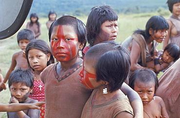 Gorotire Indian girl, Brazil, South America