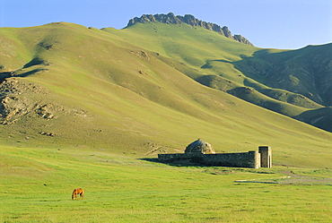 Tash Rabat Caravanserai, south of Naryn, Kyrgyzstan, Central Asia