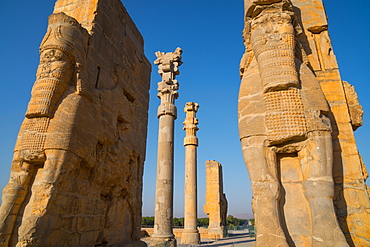 All Nations Gateway, Persepolis, UNESCO World Heritage Site, Iran, Middle East