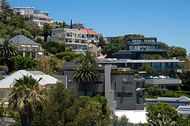 Expensive housing in Bantry Bay, Cape Town, South Africa, Africa
