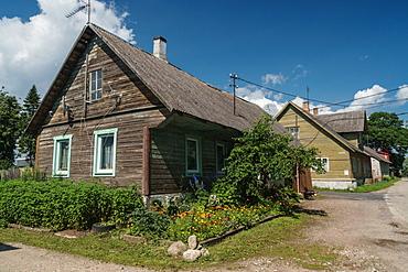 Old Believers' village, very orthodox Russian Orthodox, on Russian border, Kasepaa, Estonia, Europe