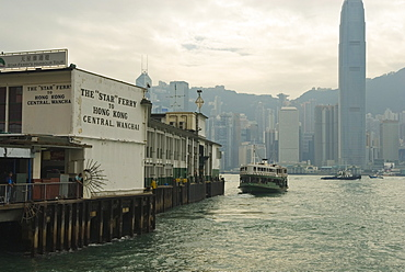 Tsim Sha Tsui Star Ferry Terminal, Kowloon, Hong Kong, China, Asia