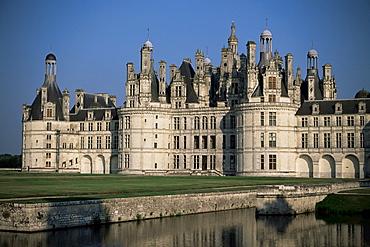 Chateau de Chambord, UNESCO World Heritage Site, Loir-et-Cher, Loire Valley, Centre, France, Europe