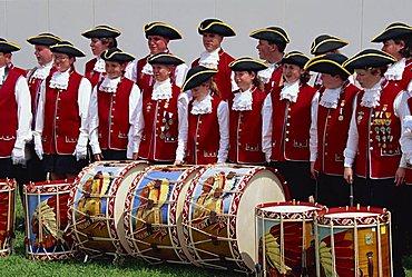Pipe band, Florida, United States of America, North America