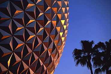 Spaceship Earth, Epcot, Disney, Orlando, Florida, United States of America, North America