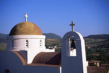 Church, Lesbos, Greece, Europe