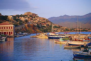 Molyvos, Lesbos, Eastern Islands, Greece, Europe