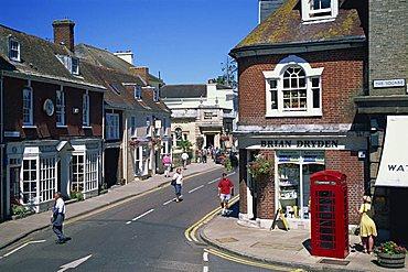 West Borough, Wimborne, Dorset, England, United Kingdom, Europe