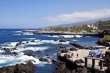 Martianez Lido, Puerto de la Cruz, Tenerife, Canary Islands, Spain, Atlantic, Europe