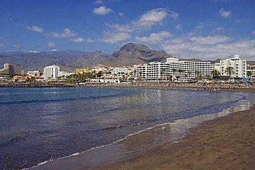Playa de Troya, Playa de las Americas, Tenerife, Canary Islands, Spain, Atlantic, Europe